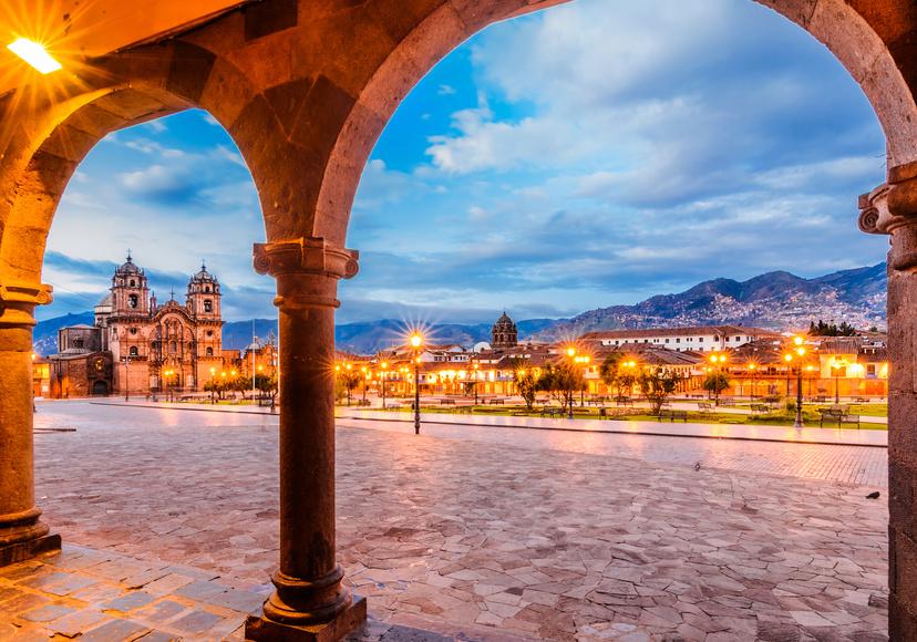 Cuzco - Kolonialstadt auf alten Inka-Mauern erbaut