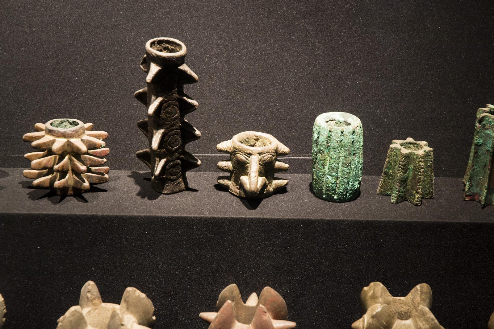 Keramiken im Larco Herrera Museum