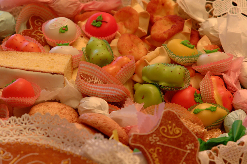 Typical Sardinian candies
