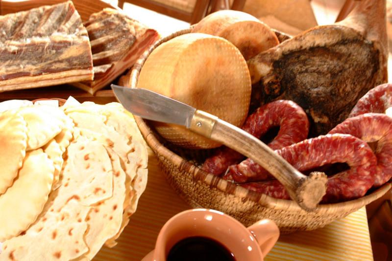 eating like a Sardinian shepherd