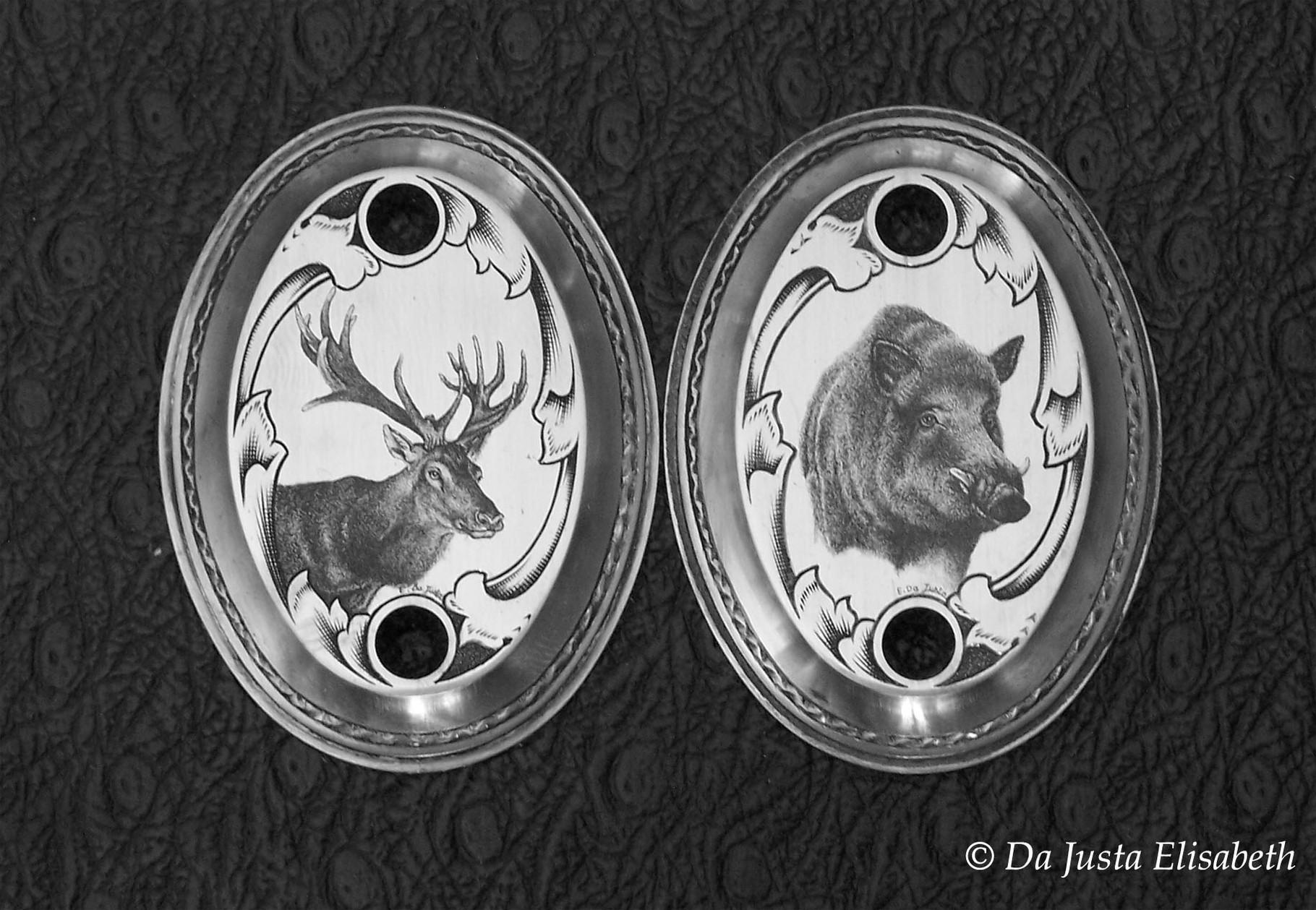 cap of boar & deer