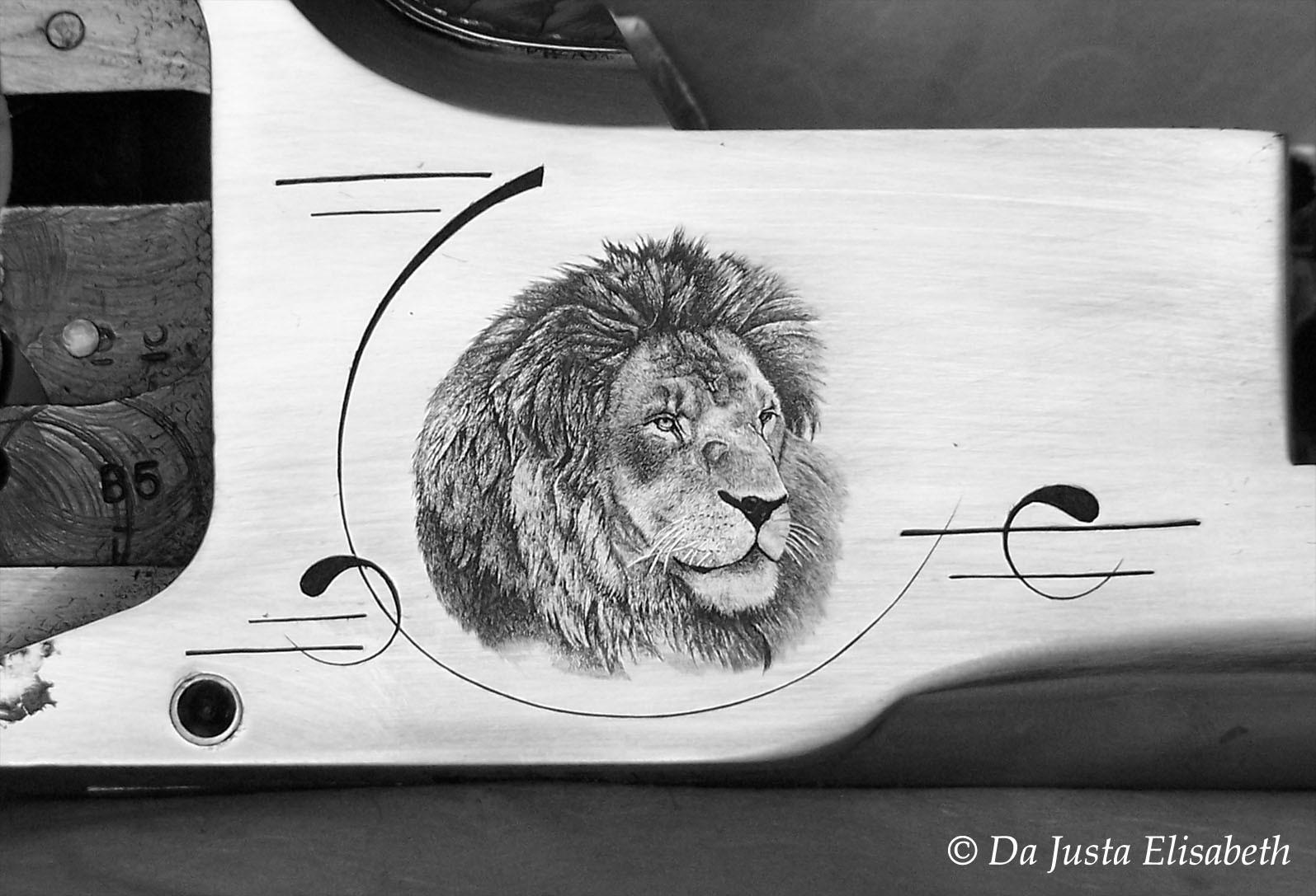 B25 & lion