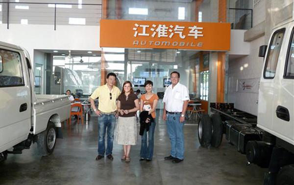 Visita Comercial de JAC China