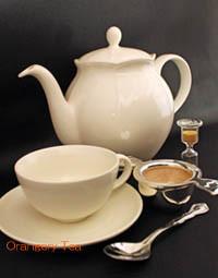 必要な紅茶道具