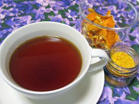 みかんの皮を有効活用。みかんパウダーを使った紅茶レシピ