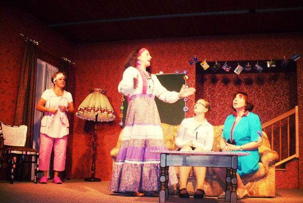 Die Stoppuhr-Familie – Myrtle, Hilda, Betsy-Ann und Kitty