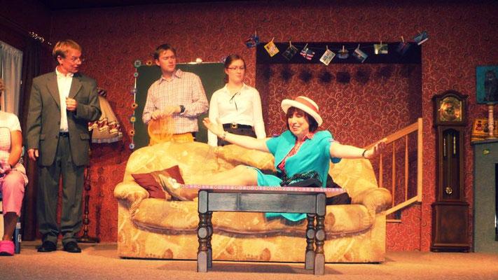Die Stoppuhr-Familie – Die Familie Allen: Robert, Chester, Betsy-Ann und Kitty