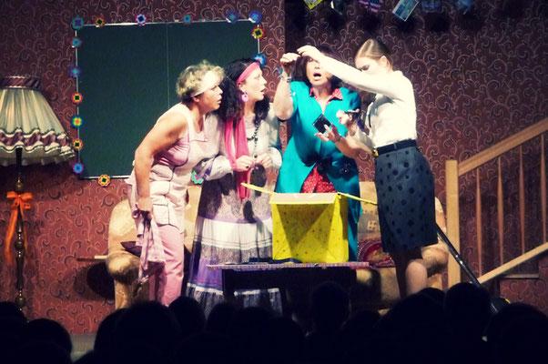 Die Stoppuhr-Familie – Myrtle, Hilda, Kitty und Betsy-Ann