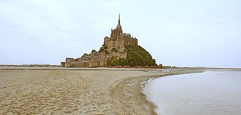 Baie du Mont Saint Michel  - Cours et stages de Qi Gong et Arts Martiaux internes du Wu Dang - Côte d'émeraude - Jean-Marc Lecacheur - Li Ming