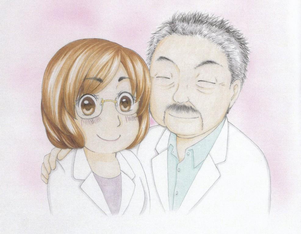 当院事務スタッフの松崎作
