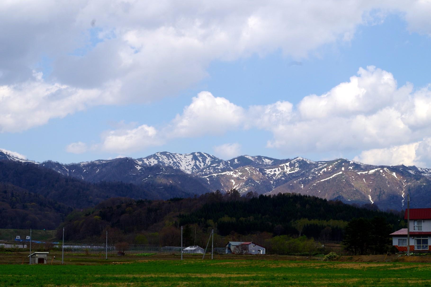 樺戸連山 空知管内で望むことのできる山々