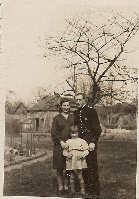 Le jardin entre 1945 et 1952, merci M Marguerite
