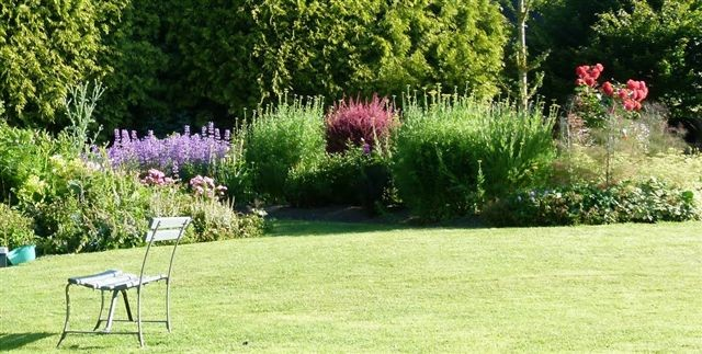 Repos au jardin
