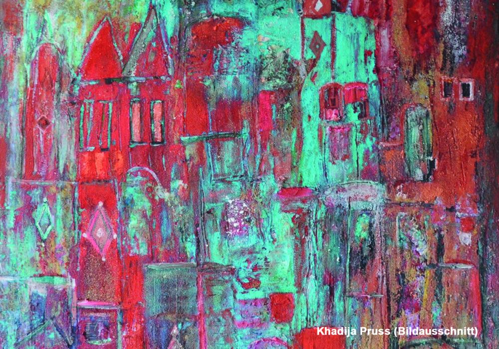 """""""Afrikanisches Dorf"""" von Khadija Pruß"""
