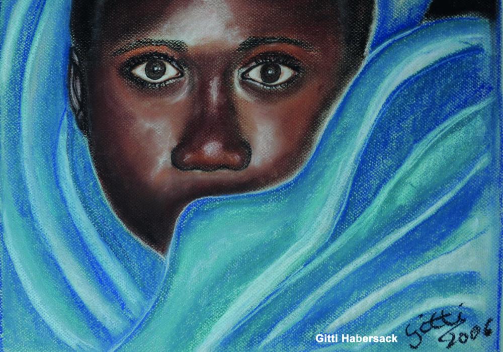 """""""Afrikanische Seele"""" von Brigitte Habersack"""