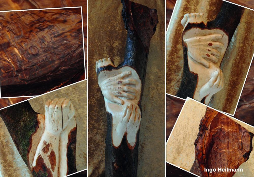 """""""Berührend"""" von Ingo Heilmann (Skulptur)"""