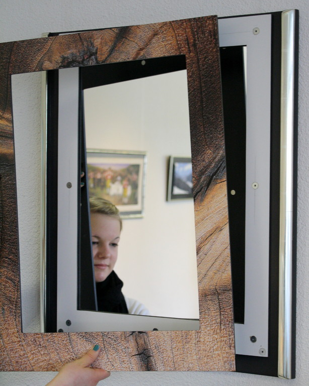 Spiegel-Neuheit mit austauschbarer Front