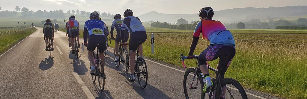 """Faszination Rhön Radmarathon - """"Pfingsten fährt man in Bimbach!"""""""