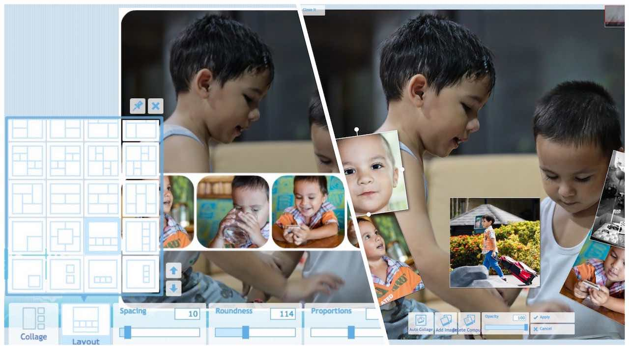 Free Online Photos Collage Maker And Combine Mixed Pictures Creator