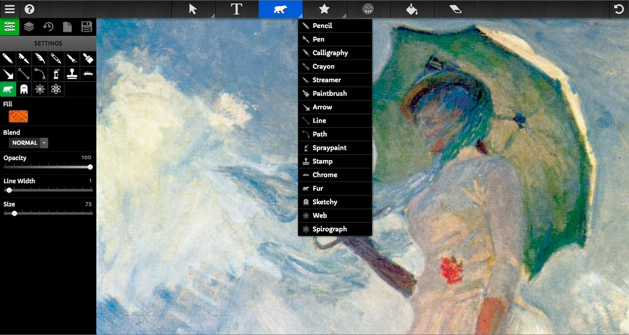 Free Online Painting, Draw and Sketch Application Websites