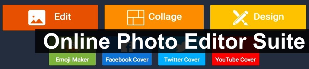 All in one free online photo editors and digital image editing suite