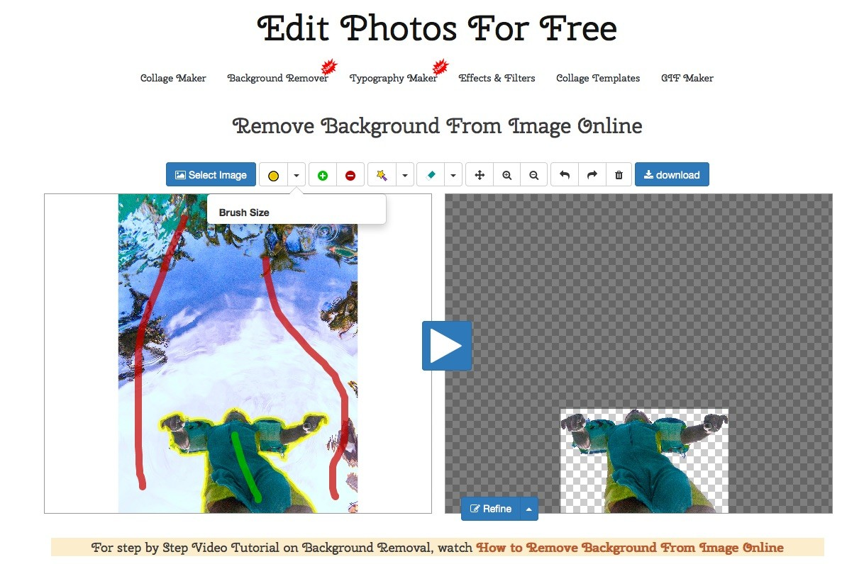 Free web based Panorama, HDR Maker and other special