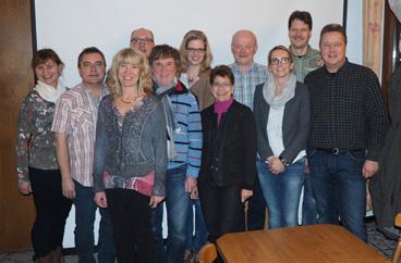 Vorstandsmitglieder inkl. erweiteten Vorstand (nicht dabei F.Kückelmann)
