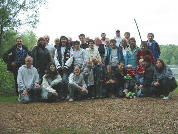 Gruppenfoto der Teilnehmer Antauchen 2003