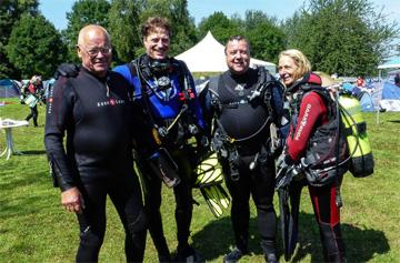 Peter, Jogy, Thomas und Birgit