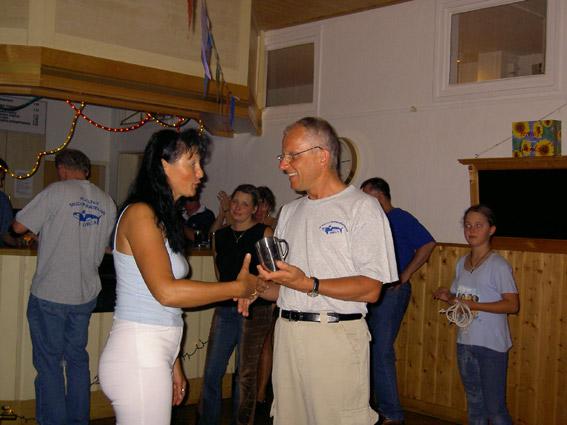 Ehrung für 10jährige Mitgliedschaft: Harald Kaiser