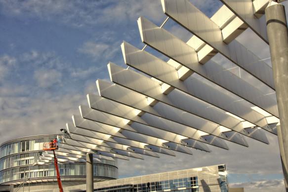 Urbanes Designe, Flughafen Nürnberg