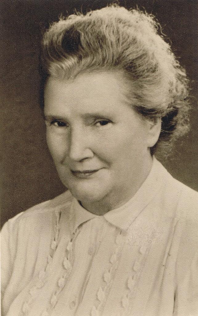 Mathilde Assmann 1955 Berlin