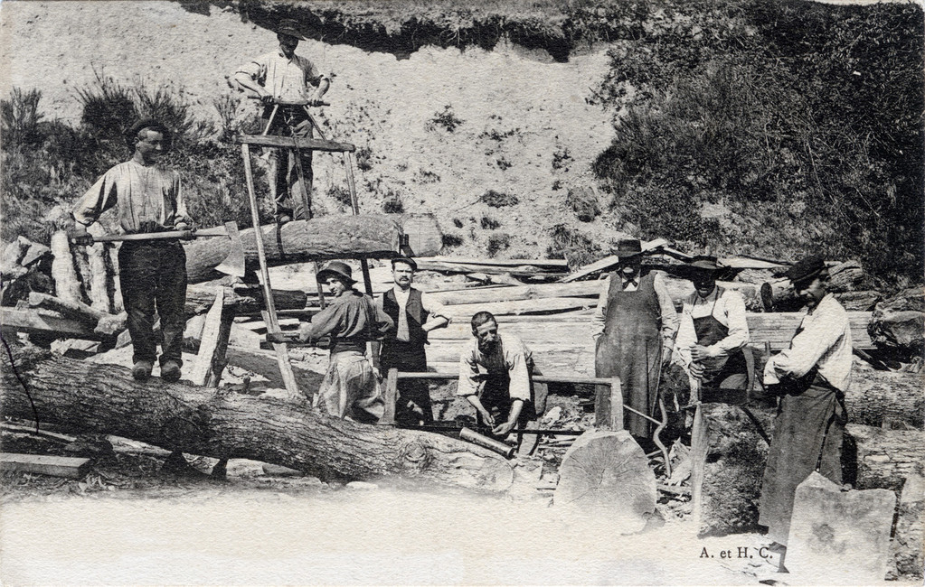 La fabuleuse histoire des scieurs de long
