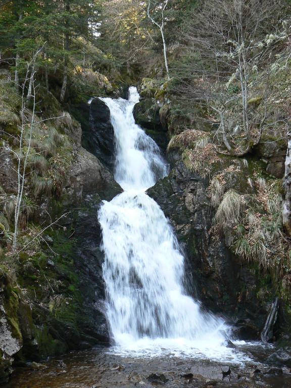 Cascade de Chorsin à Sauvain