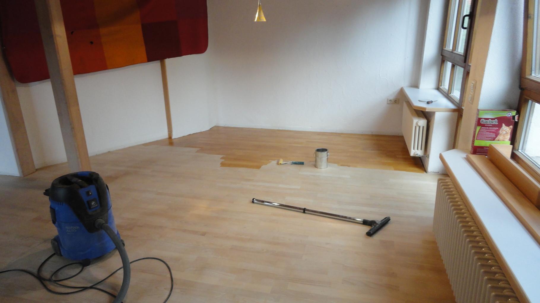 Renovierung Parkettboden