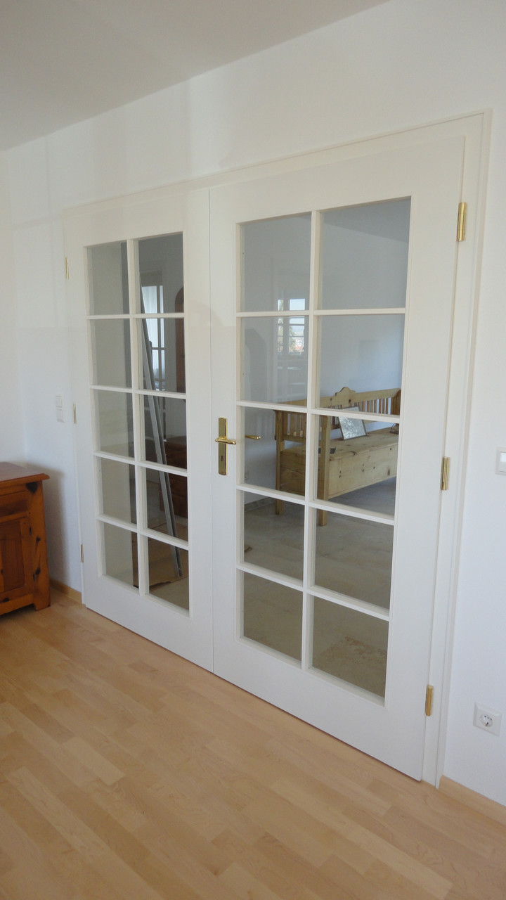 zweiflüglige Zimmertür