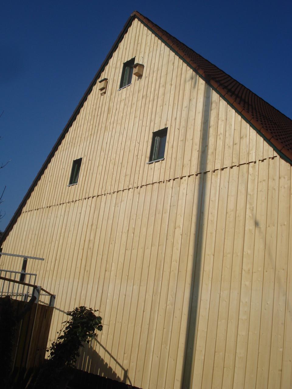 Verschalung Scheunen-Fassade