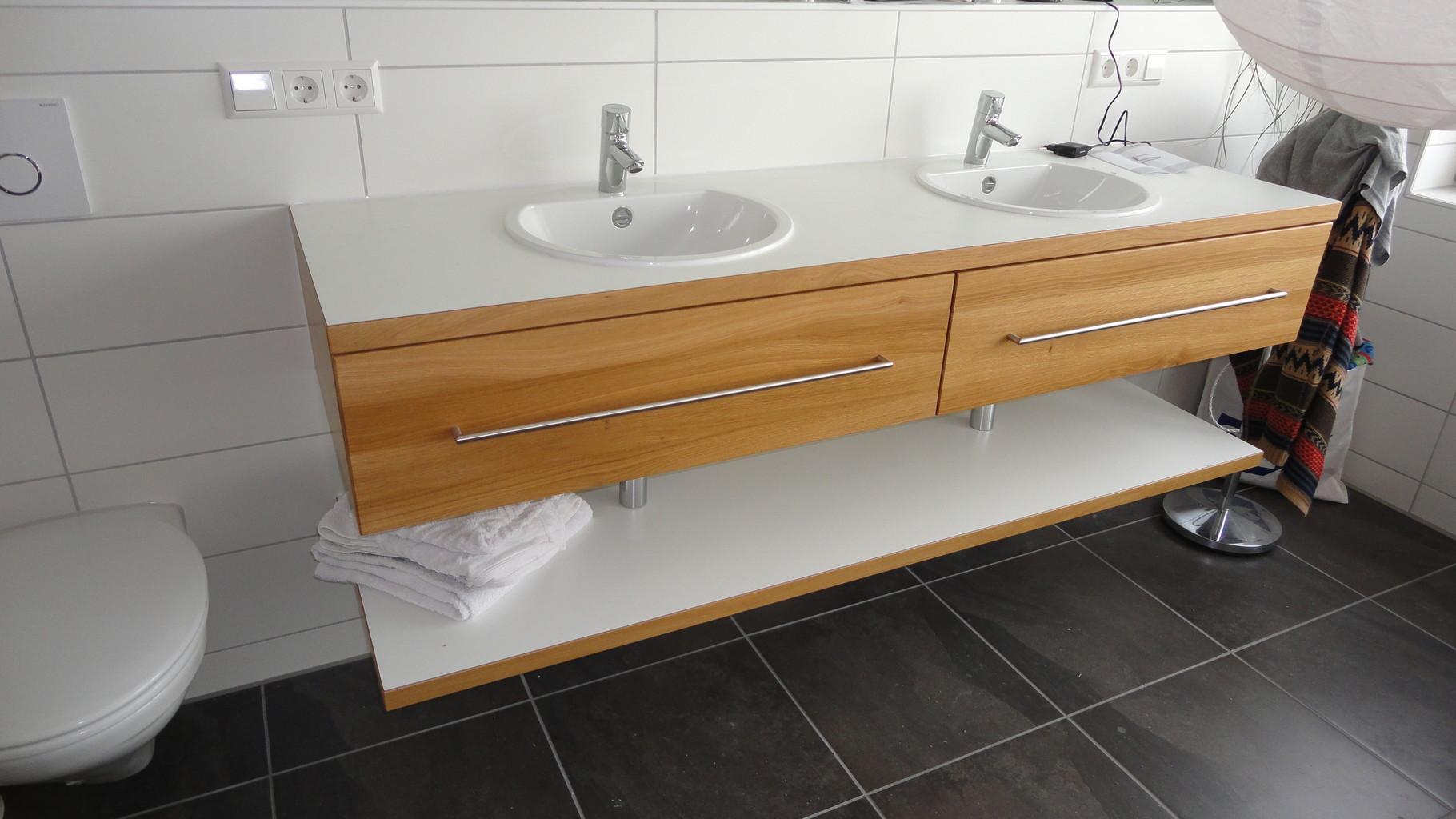 Waschtischplatte holz nach maß  Waschtischplatte Nach Maß: Badmöbel nach maß fresh furnitures.