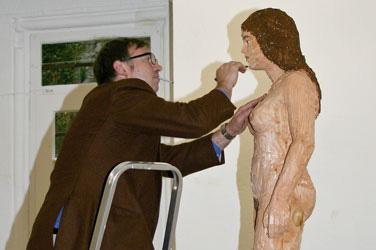 Stephan Balkenhol, Skulpturen | Zeichnungen, 3.9._15.10. 2006, Schloss Detmold
