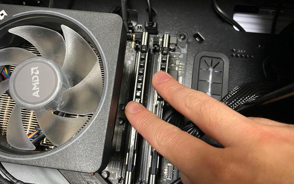 メモリ2枚差し、デュアルチャンネルパソコンAR
