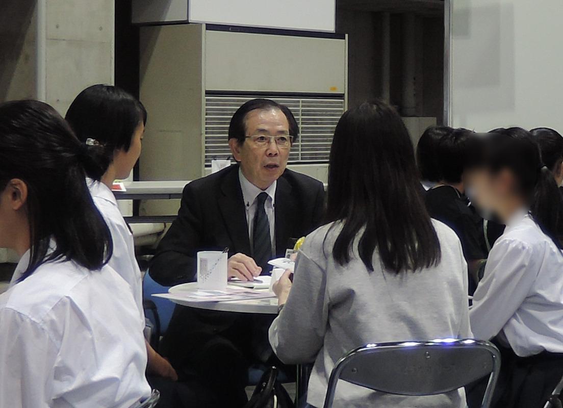 大手前大学 現代社会学部 川島正章 先生