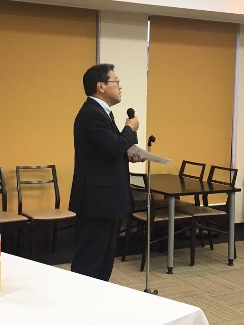 第二部交流会 挨拶 大阪成蹊短期大学 紺野 昇学長