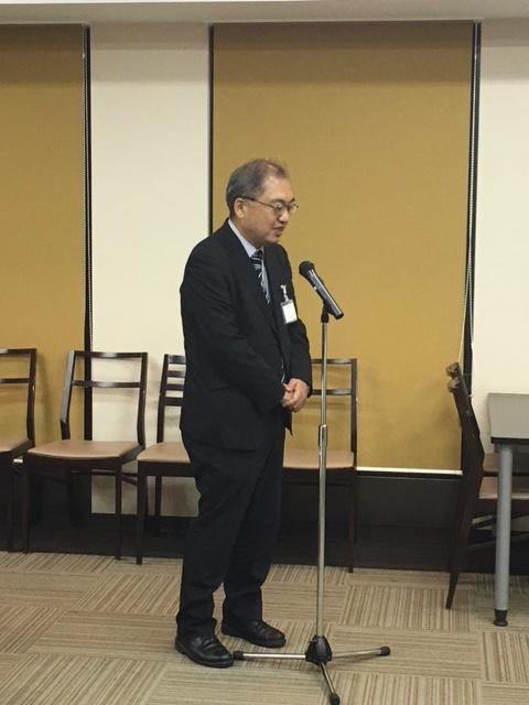 閉会の挨拶 一般社団法人 関西観光教育コンソーシアム 理事 廣岡 裕一先生