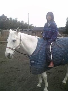 引き馬が面倒になり、つい乗ってしまいました、ごめん。