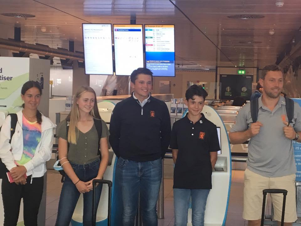 Vijfde plaats Rosanne Boere met Nederlands Team.