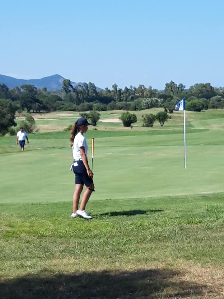 Rosanne Boere 7e bij NK Golf voor Dames