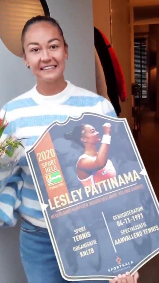 Lesley Pattinama-Kerkhove speelt tweede ITF toernooi op rij in het Zuid-Afrikaanse Potchefstroom.
