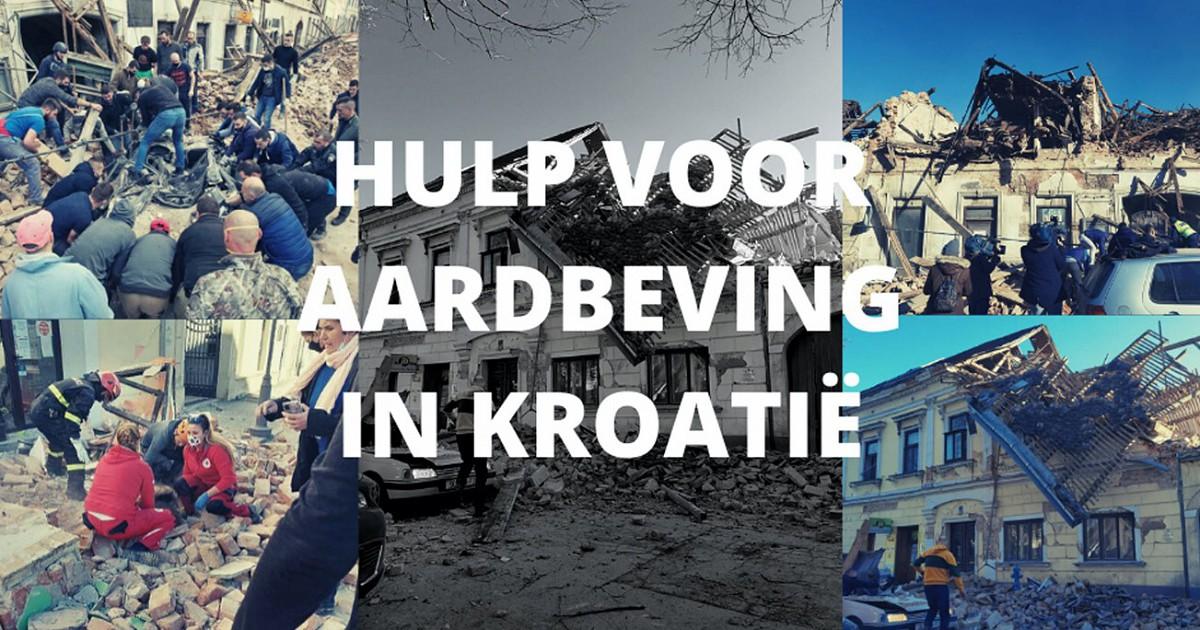 vv Hellevoetsluisdoelman Danijel Ribaric ondersteunt inzamelingsactie voor slachtoffers aardbeving Kroatië.