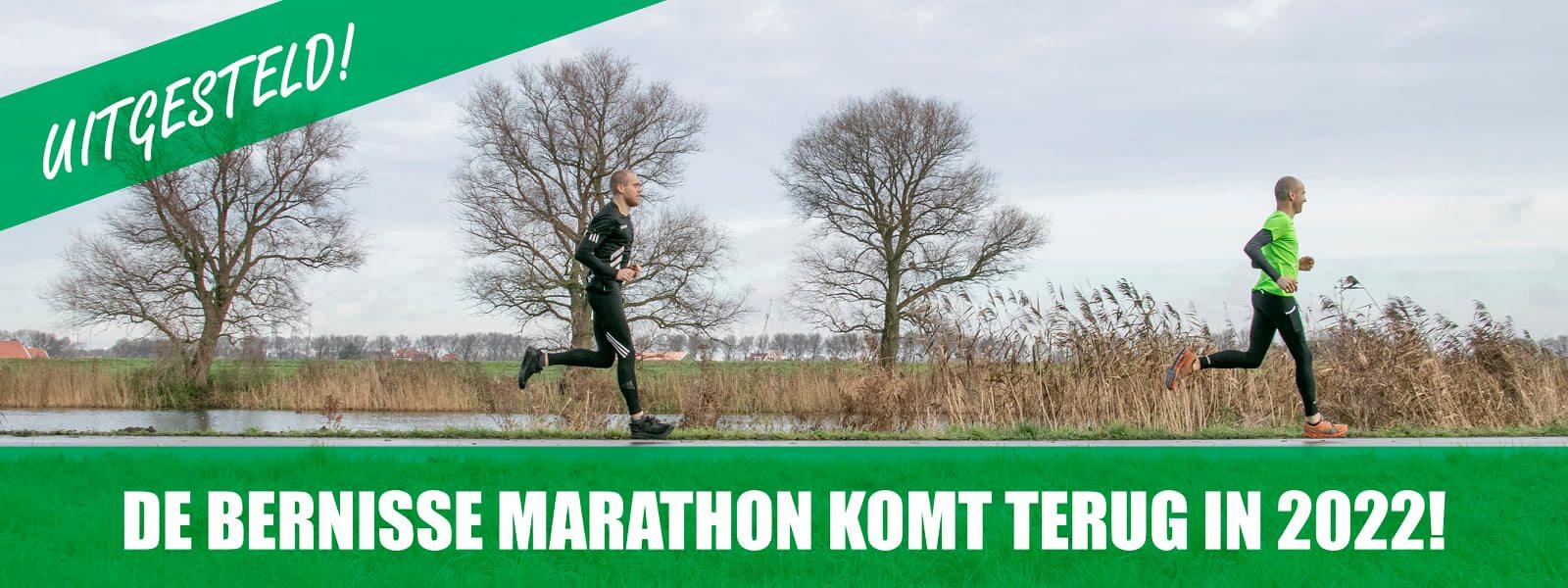 1e editie Bernisse Marathon uitgesteld.