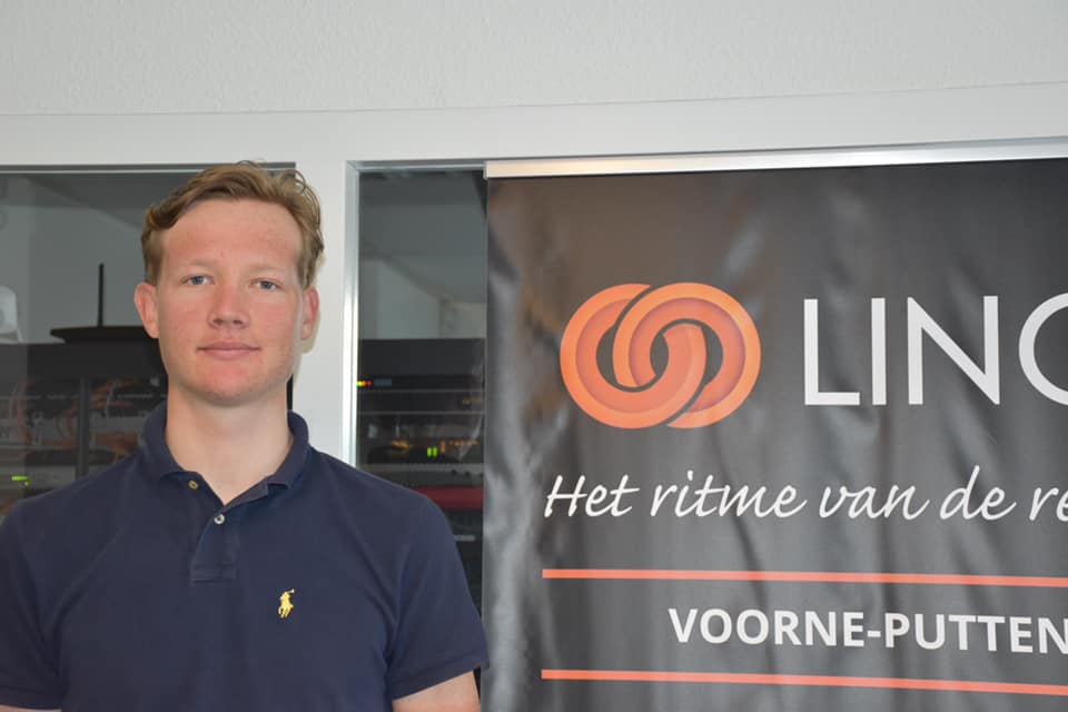 Beloftewielrenner Daan Hoole in de Czech Tour 2020.